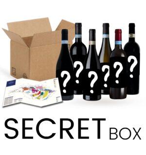 Acquistano la secret box in regalo per te la mappa Enogea