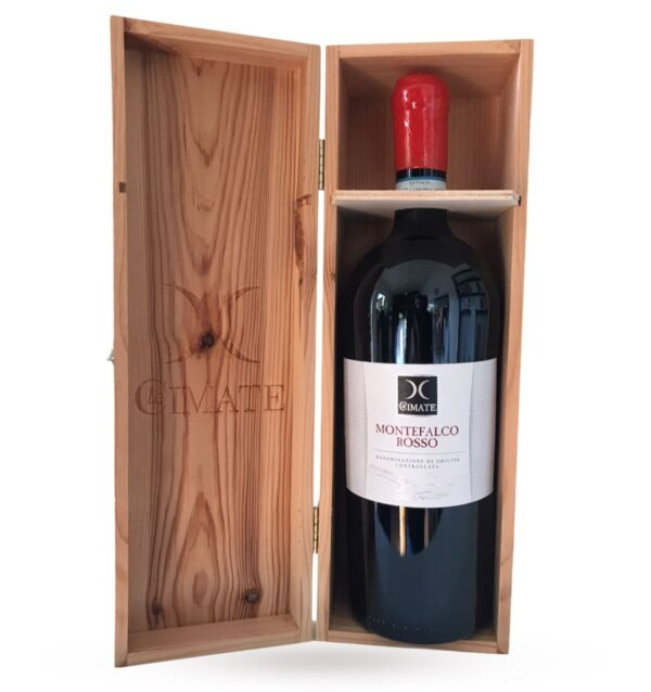 LE CIMATE, MONTEFALCO ROSSO DOC 2014 - MAGNUM (case in legno)