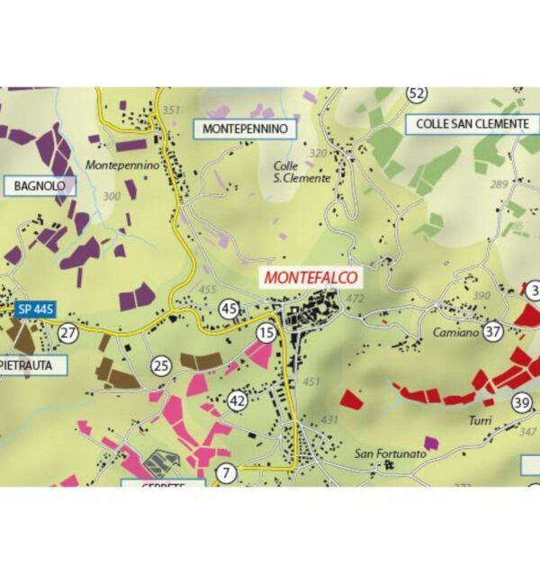 Mappa Enogea, Consorzio Tutela Vini Montefalco