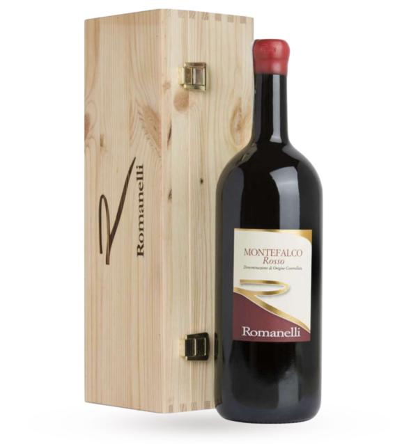 ROMANELLI, MONTEFALCO ROSSO DOC 2017 - MAGNUM (case in legno)