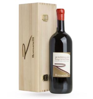 ROMANELLI, MONTEFALCO SAGRANTINO DOCG 2015 - MAGNUM (case in legno)