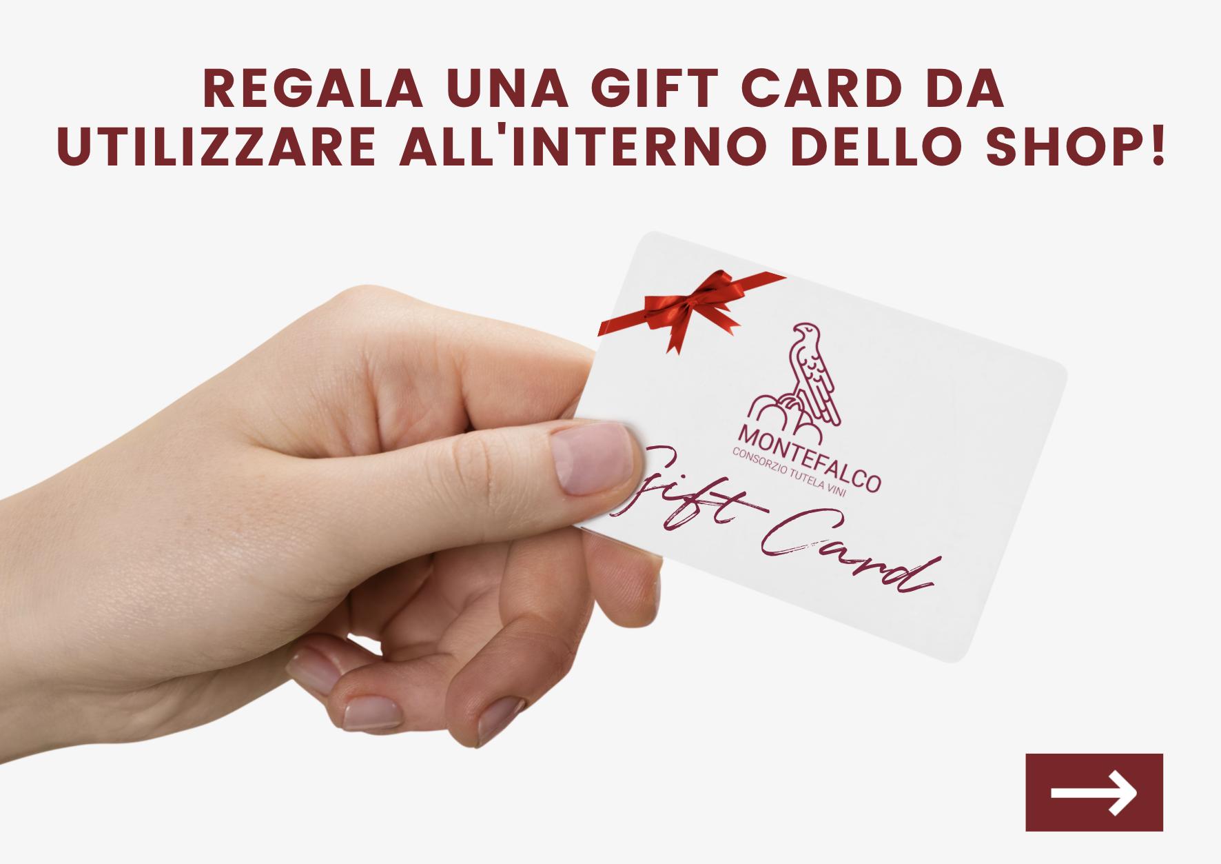 Regala una gift card - Shop Consorzio Tutela Vini Montefalco