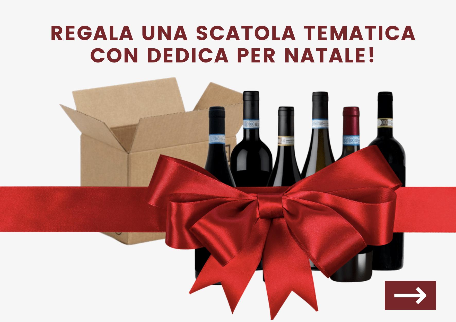 Regala una scatola tematica per Natale - Shop Consorzio Tutela Vini Montefalco