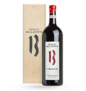 TENUTA BELLAFONTE, MONTEFALCO SAGRANTINO DOCG Collenottolo 2014 - MAGNUM (case in legno)