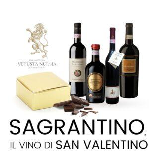 Sagrantino, il vino di San Valentino